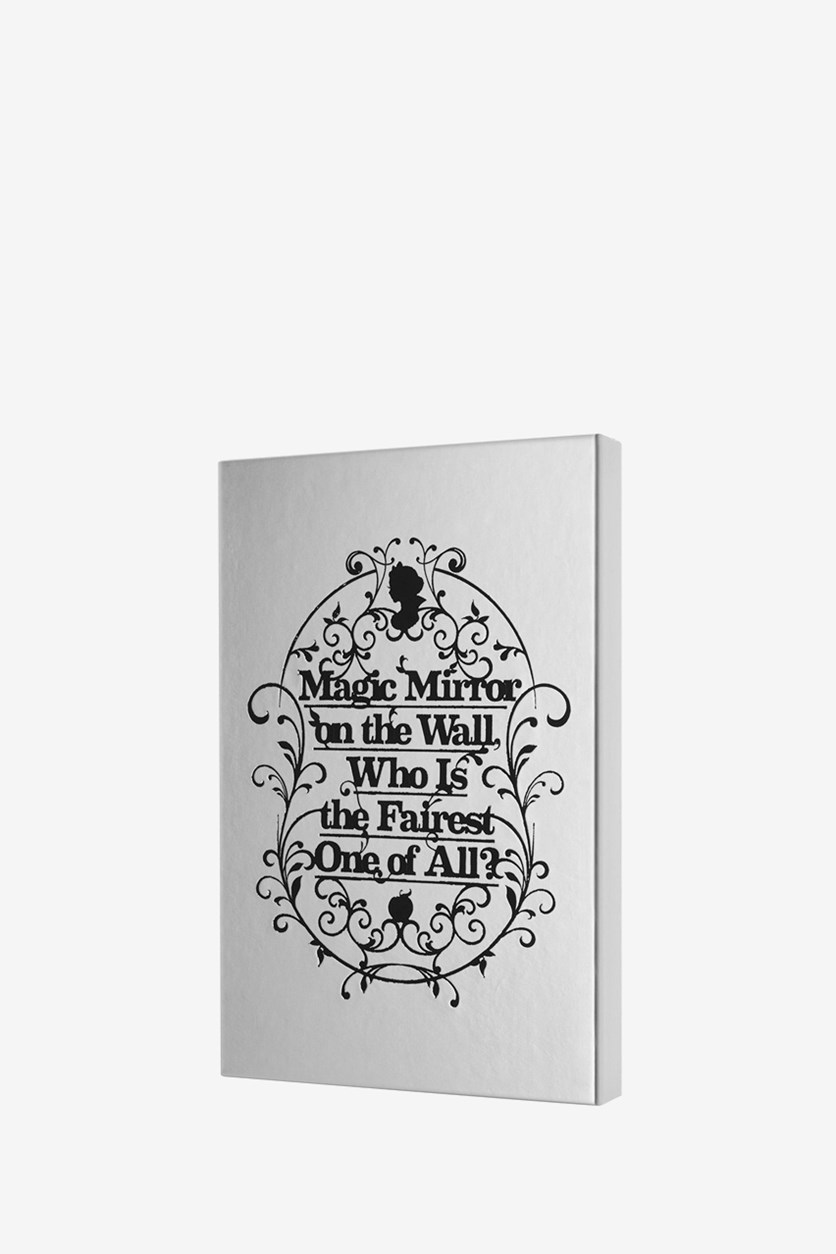 Snow White Notebook Collectors Box, Silver/Black