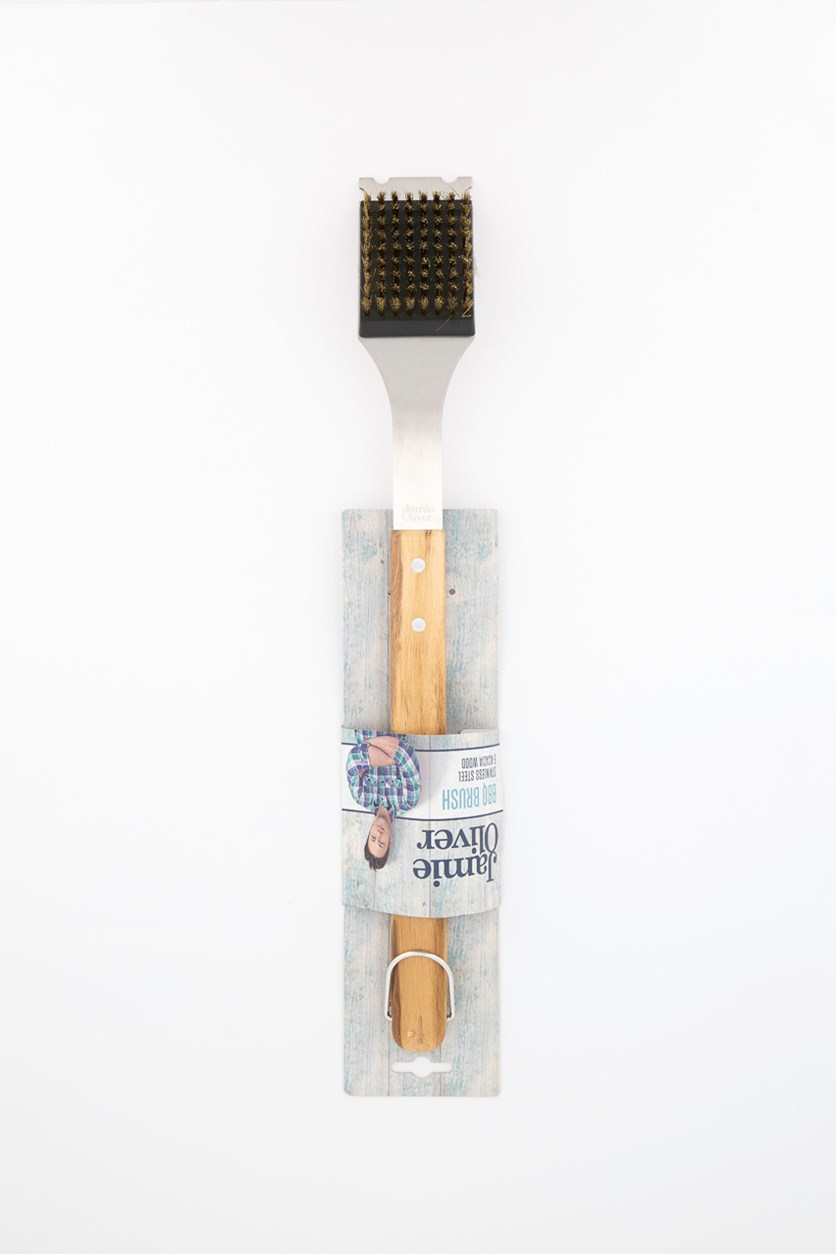 Barbeque Brush, Brown/Silver