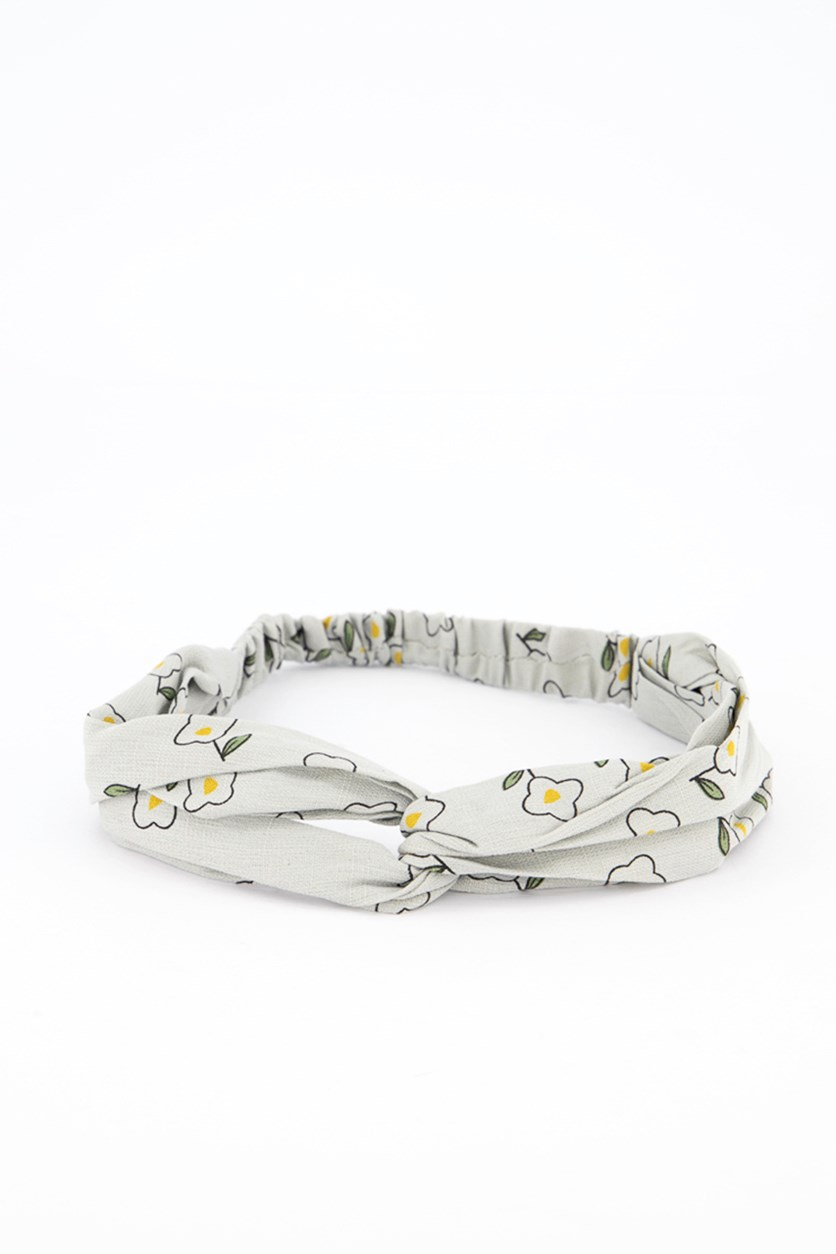 Fashionable Fabric Headband, Grey