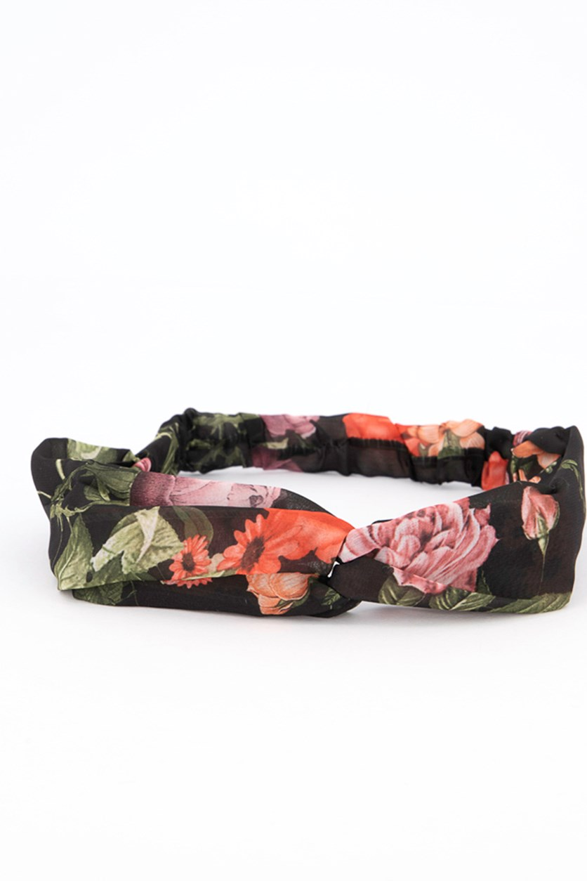 Fashionable Fabric Headband, Black