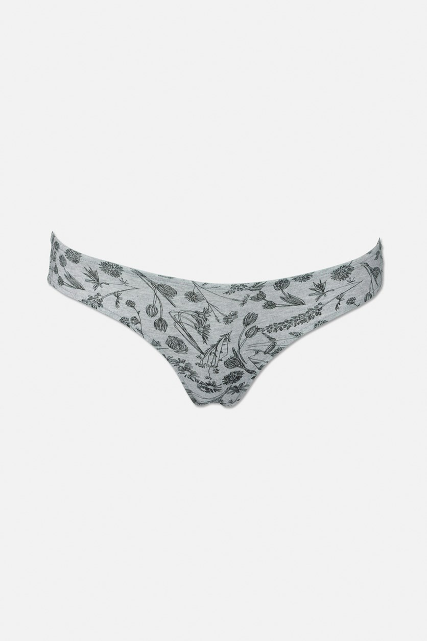 Women's Under Yours Cheeky, Heather Gray