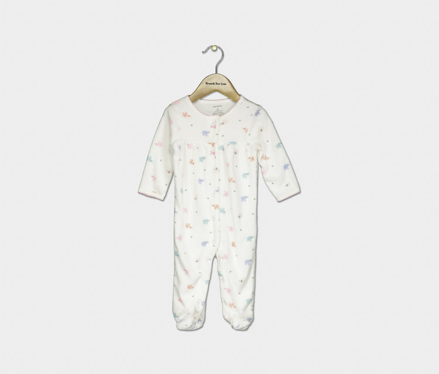 Carter/'s Baby Girl Bodysuit Daddy/'s Lucky Lady Sleep or Play New