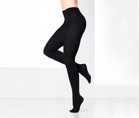 Women's Structure Tights, Black