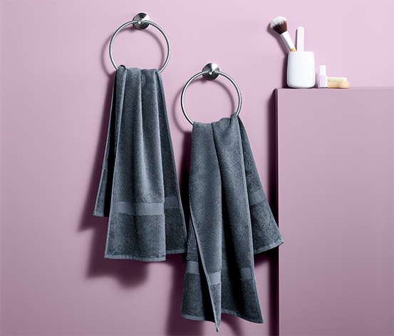 2 Terry Towels, Grey