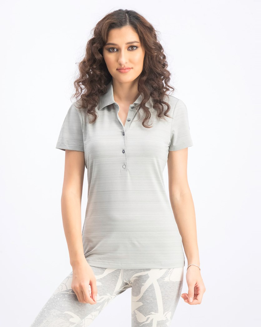 Women's Golf Barcode Polo, Limestones