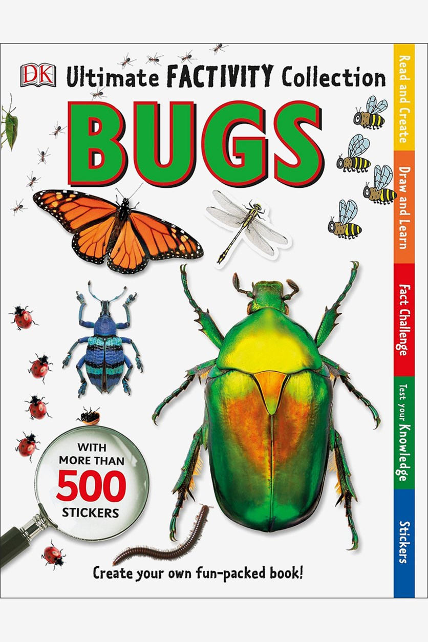 Ultimate Factivity Collection: Bugs: Create Your Own Fun-Packed Book!, White Combo