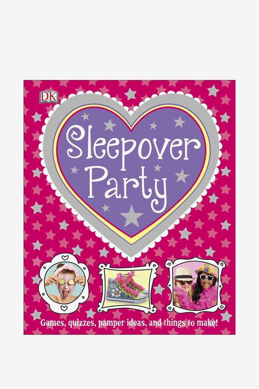 Sleepover Party Book, Pink Combo