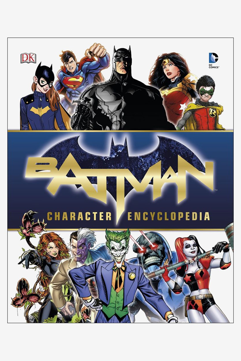 Batman Character Encyclopedia - Hardcover, White Combo