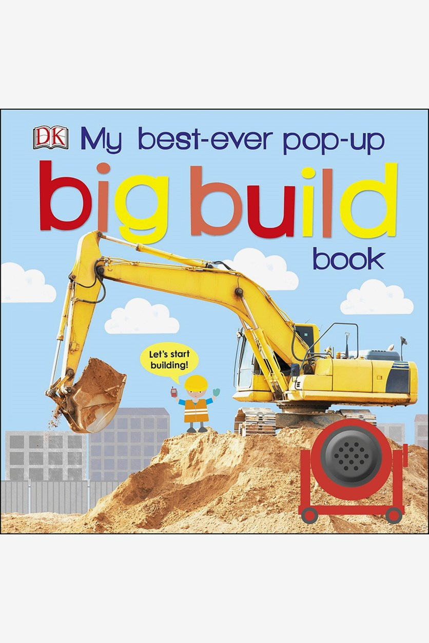My Best-Ever Pop-Up Big Build Book, Blue Combo
