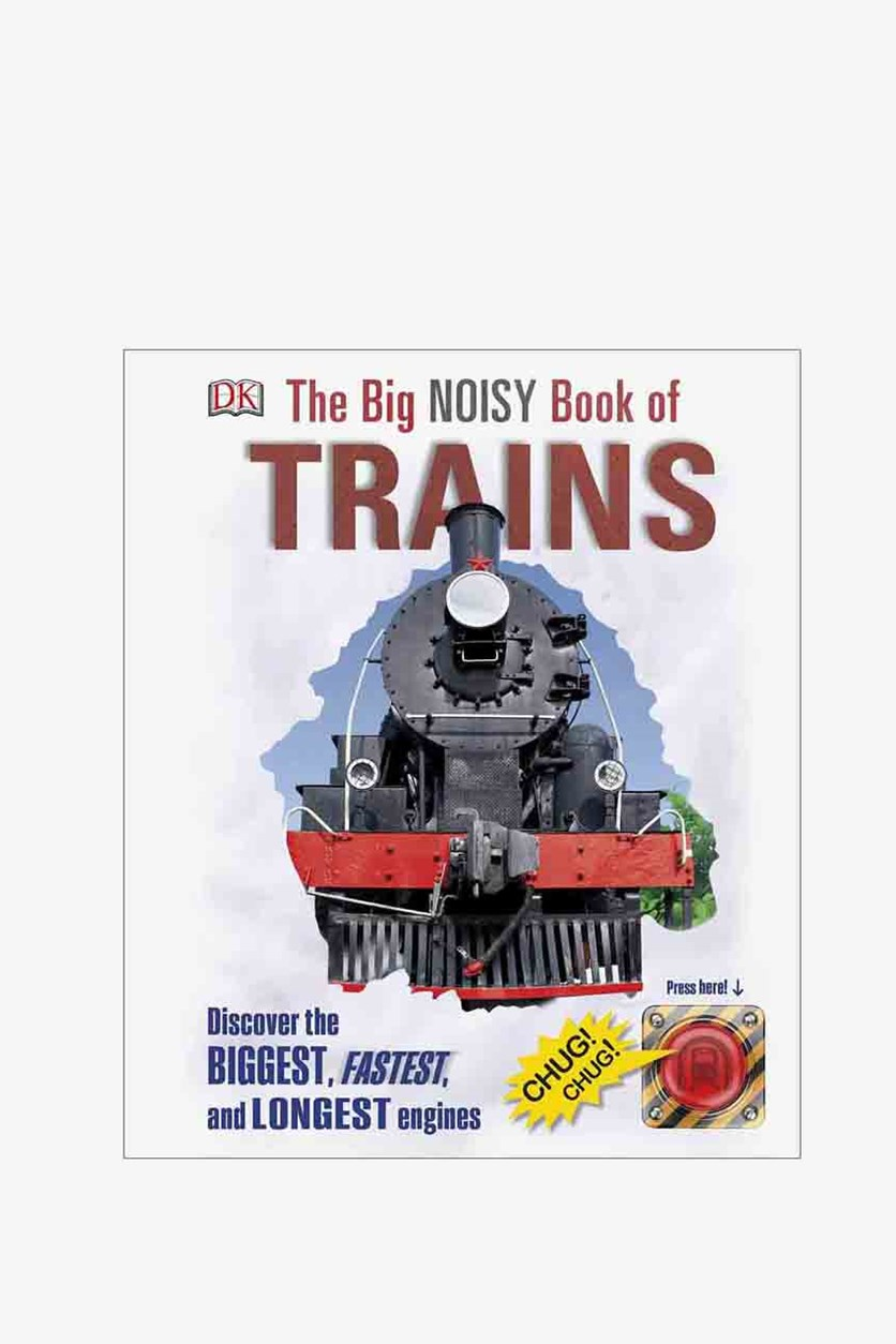 The Big Noisy Book of Trains, White Combo