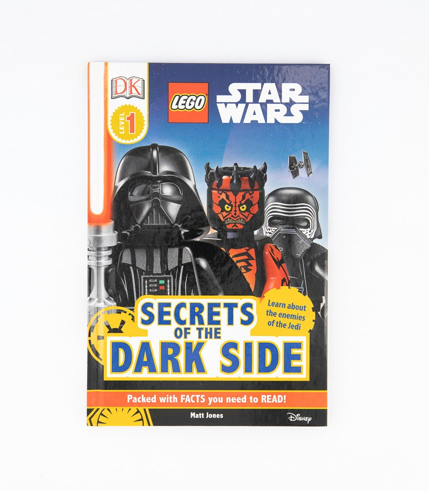 Star Wars Secrets Of The Dark Side Hardcover, White/Black