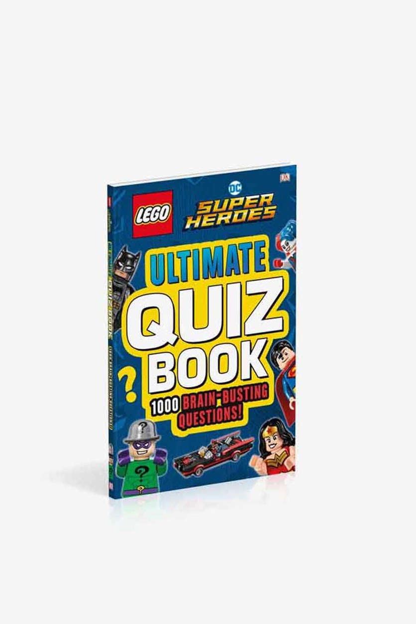 LEGO DC Comics Super Heroes Ultimate Quiz Book, Blue Combo