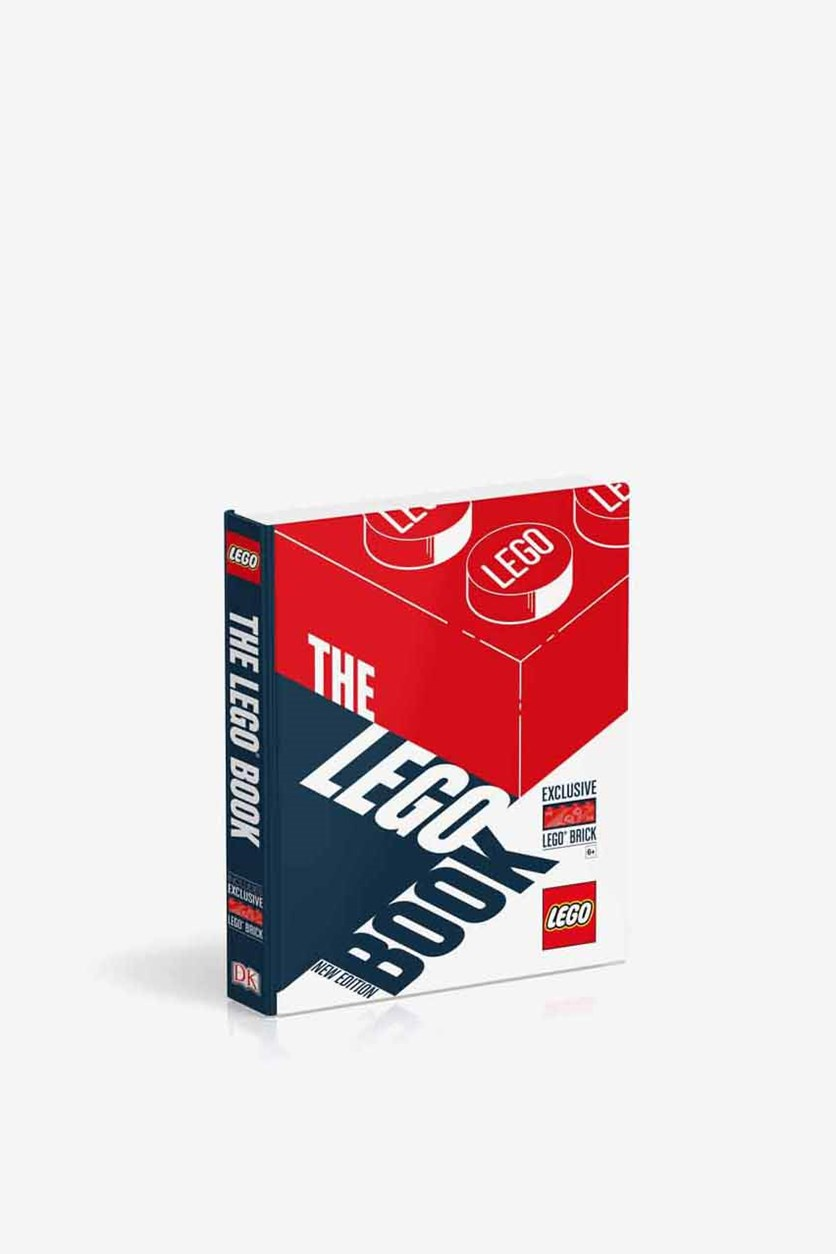 The LEGO Book New Edition: With Exclusive Lego brick Hardcover, Red/White/Blue