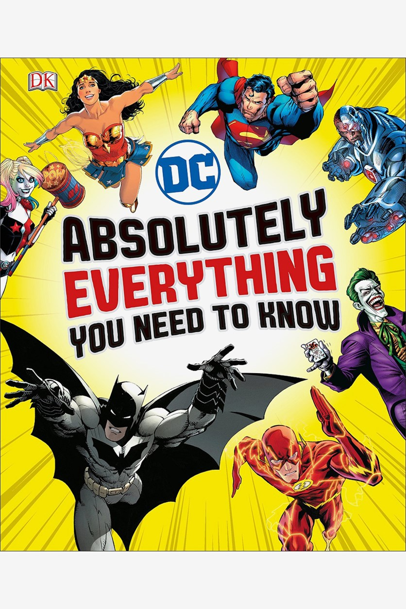DC Comics Absolutely Everything You Need To Know, Yellow Combo