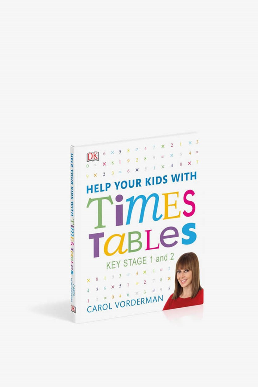 Help Your Kids With Times Tables, White