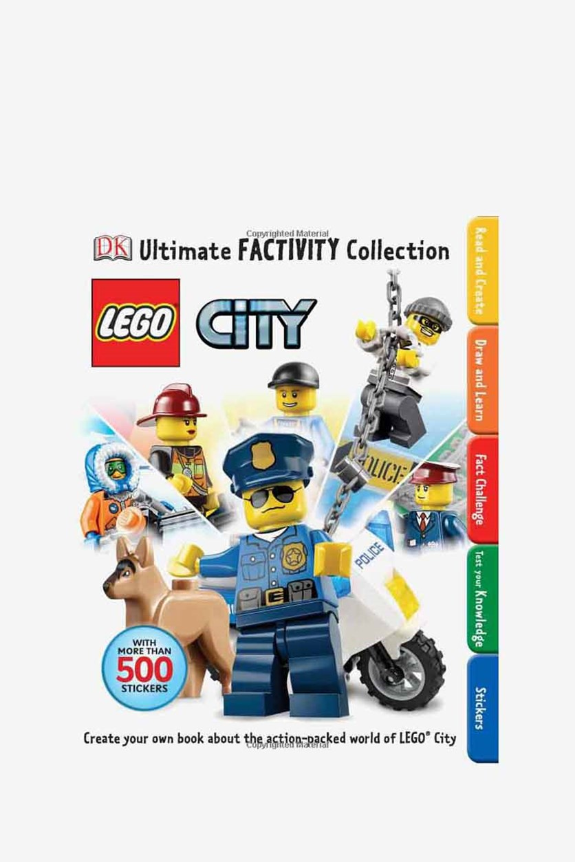 Lego City Ultimate Factivity Collection, White Combo