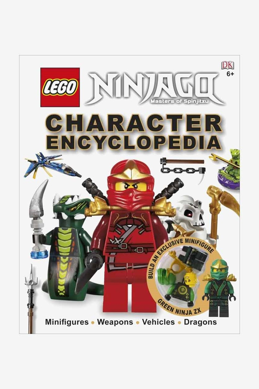 Ninjago Character Encyclopedia, White/Red/Green Combo