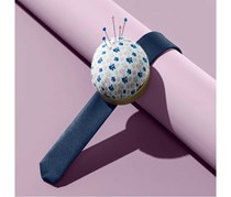Pincushion, White/Purole