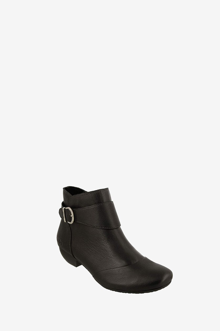 Women's Addition Ankle Boots , Black
