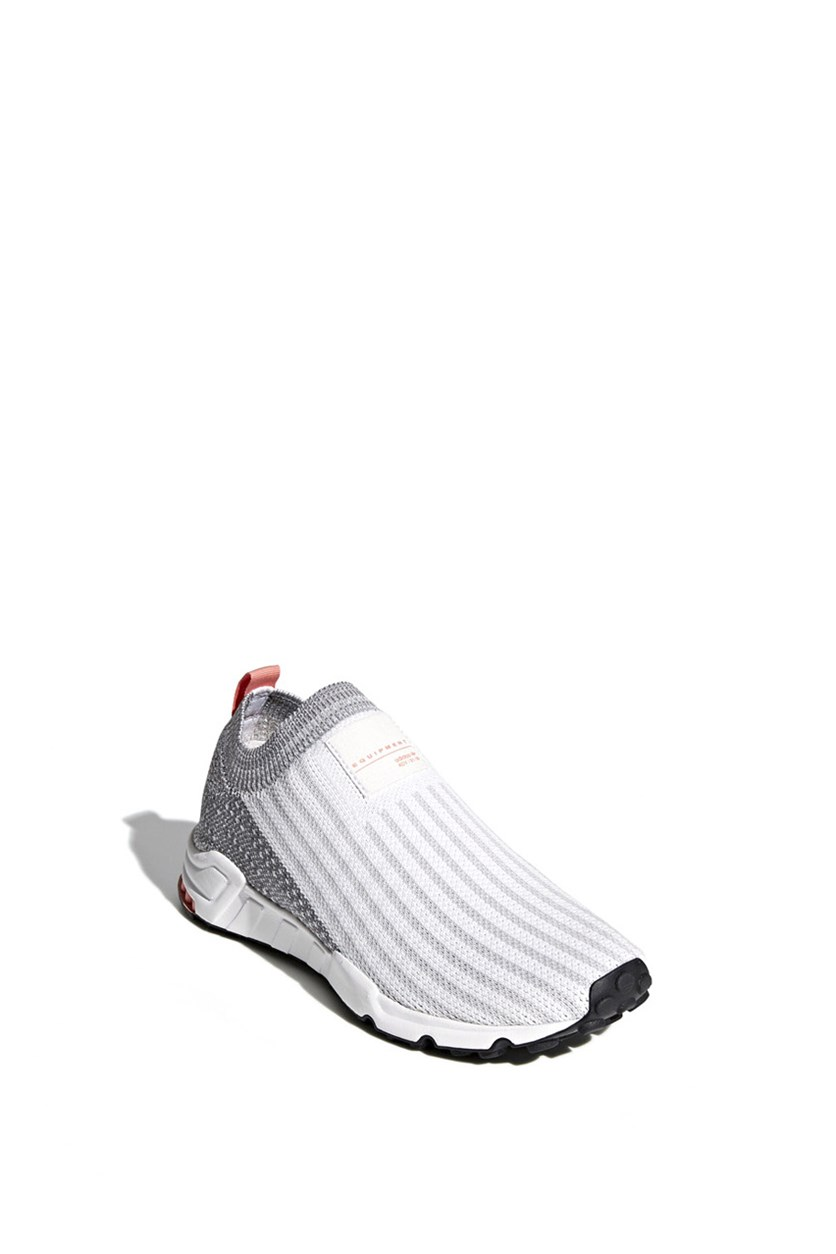Women's EQT Support Sock Primeknit Shoes, Cloud White/Grey