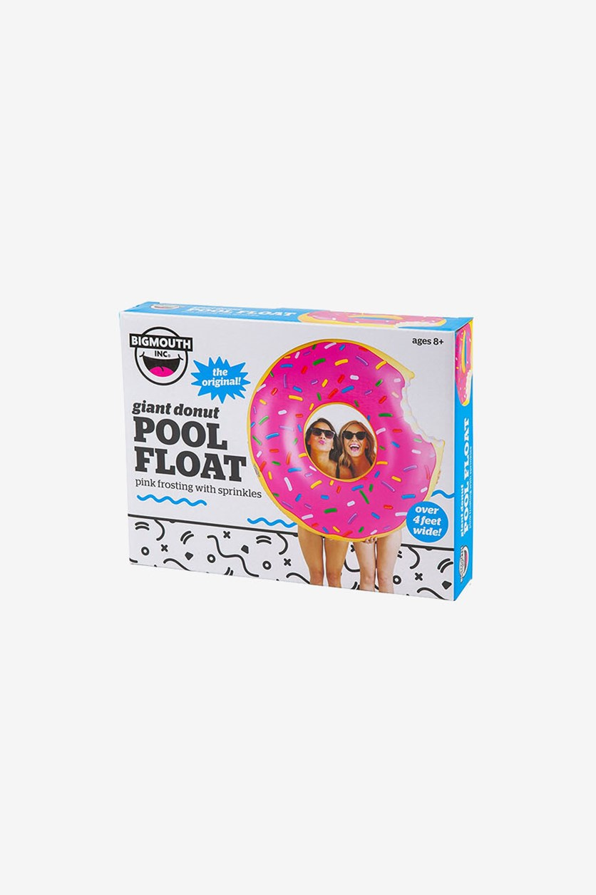 Giant Strawberry Donut Pool Float, Pink