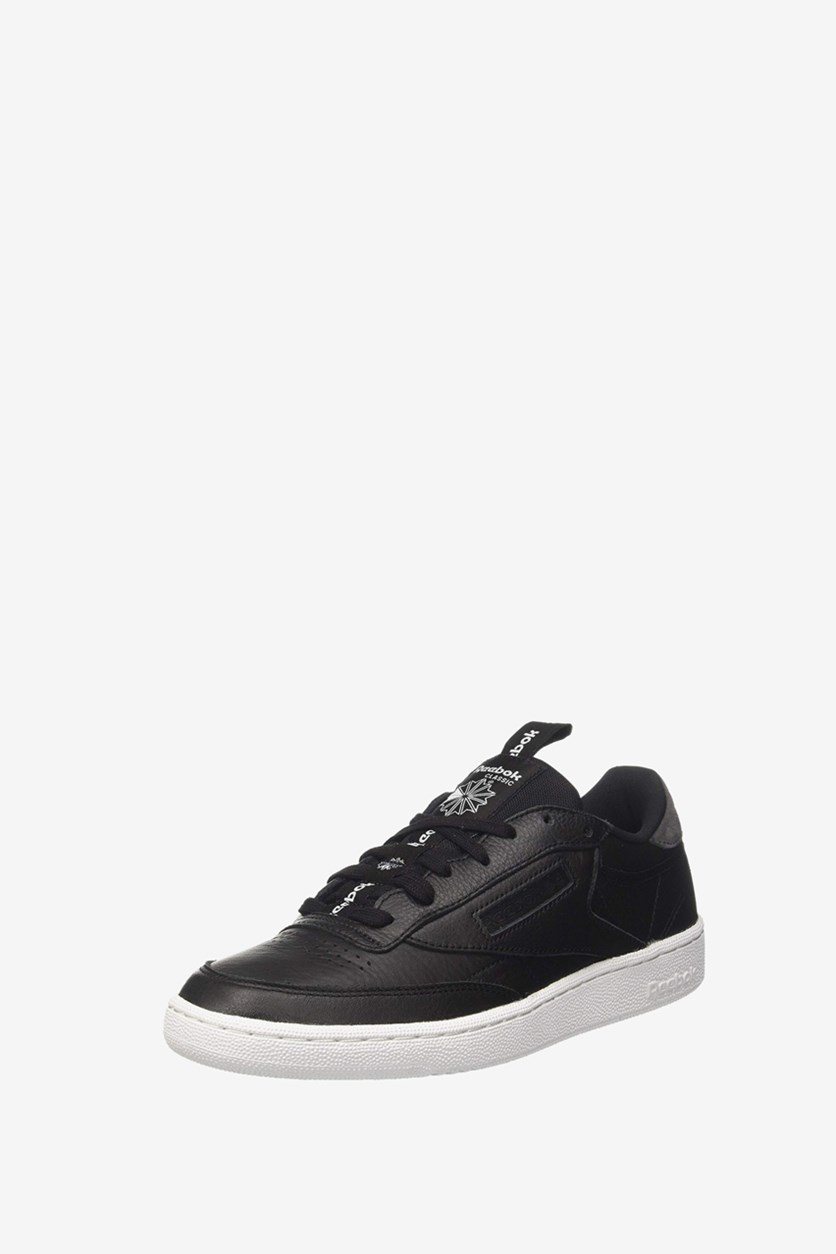 Men's Club C 85 Iconic Taping Sneakers, Black