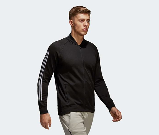 Adidas Men's Sport Jacket, Black