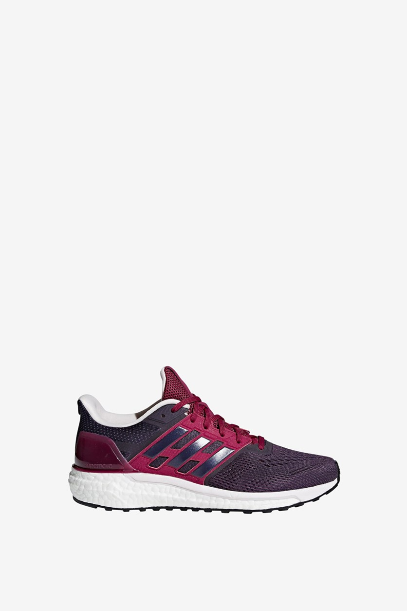 Women's Supernova Running Shoe, Noble Ink/Mystery Ruby