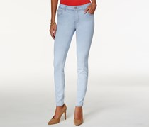 Celebrity Pink Juniors Snowfalls Super Skinny Jeans, Snowfalls