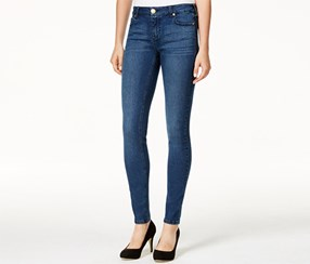 Celebrity Pink Junior's The Slimmer Skinny Jeans, Navy