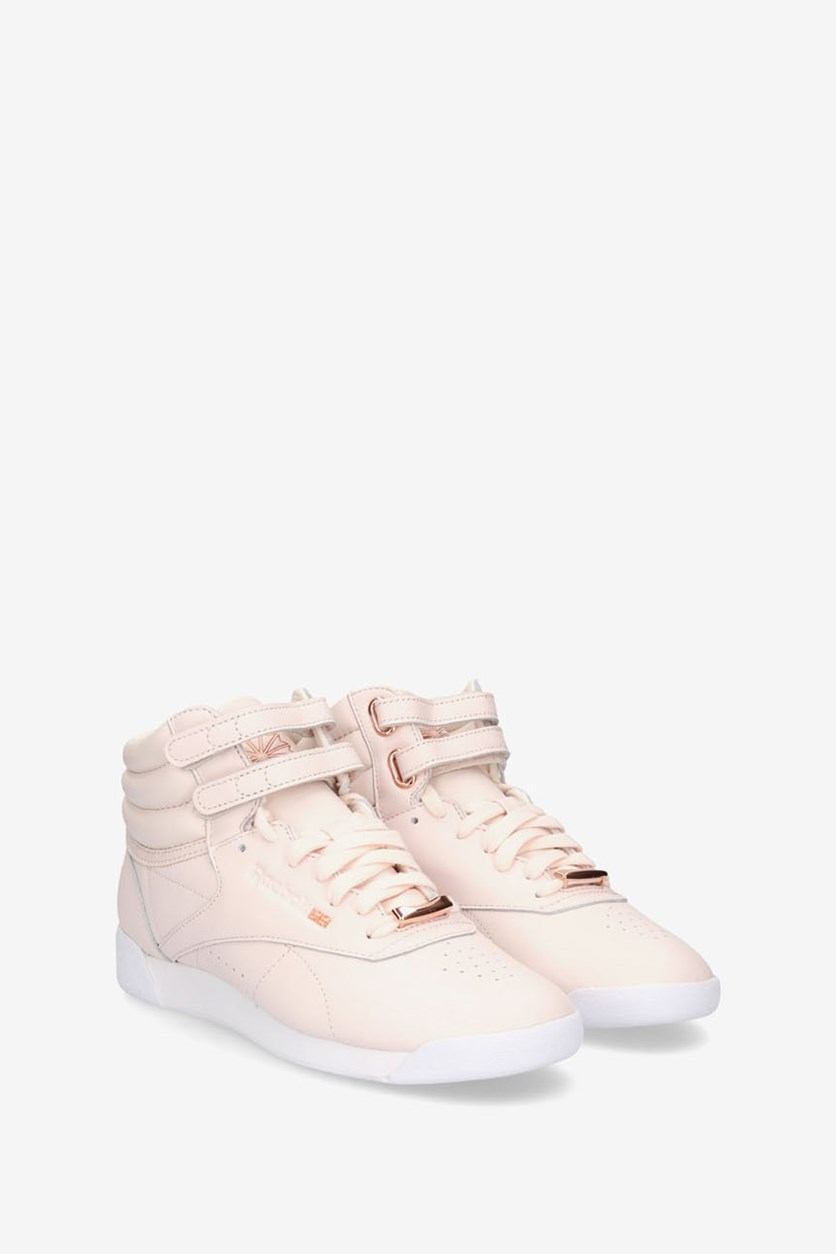 Women's Freestyle High Muted Shoes, Pink/White/Shadow