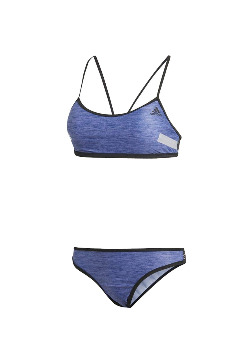 Women's 2 Pcs. Essential Bikini Set, Indigo/Black