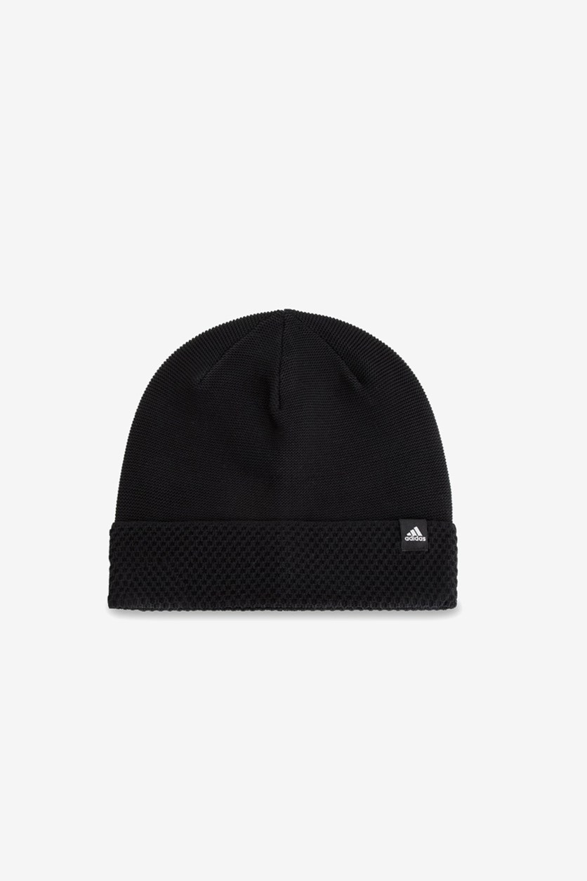 Women's Textured Beanie, Black