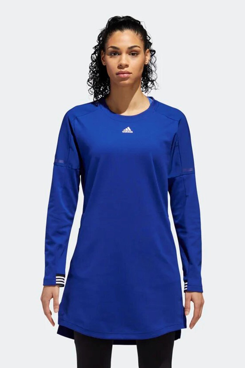 Women's ID Sport Transitional Dress, Blue