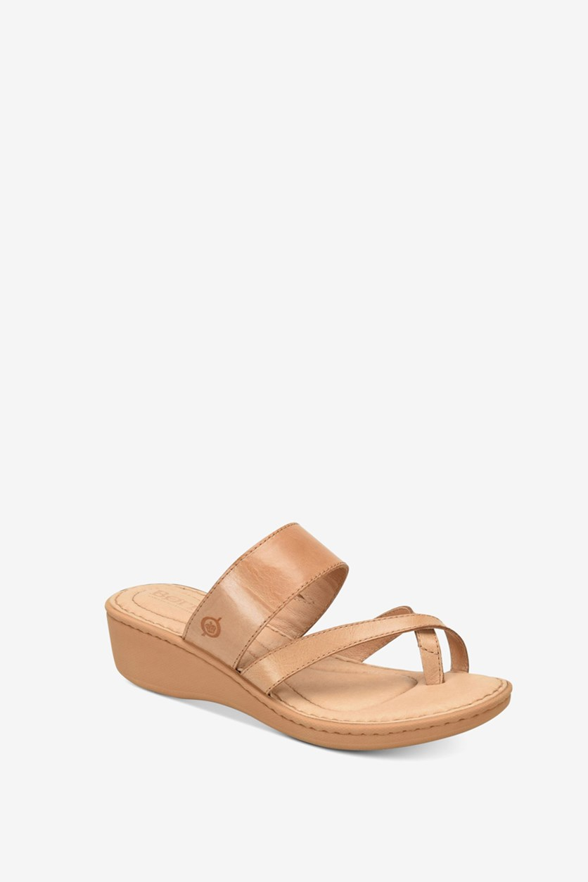 Women's Siene Wedge Sandals, Tan
