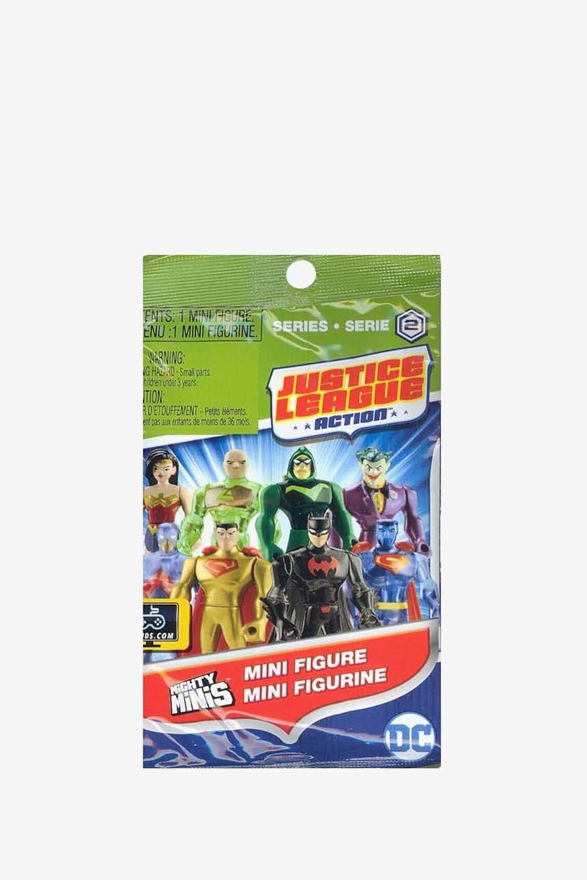 Justice League Mini Figure Mystery Pack, Green Combo
