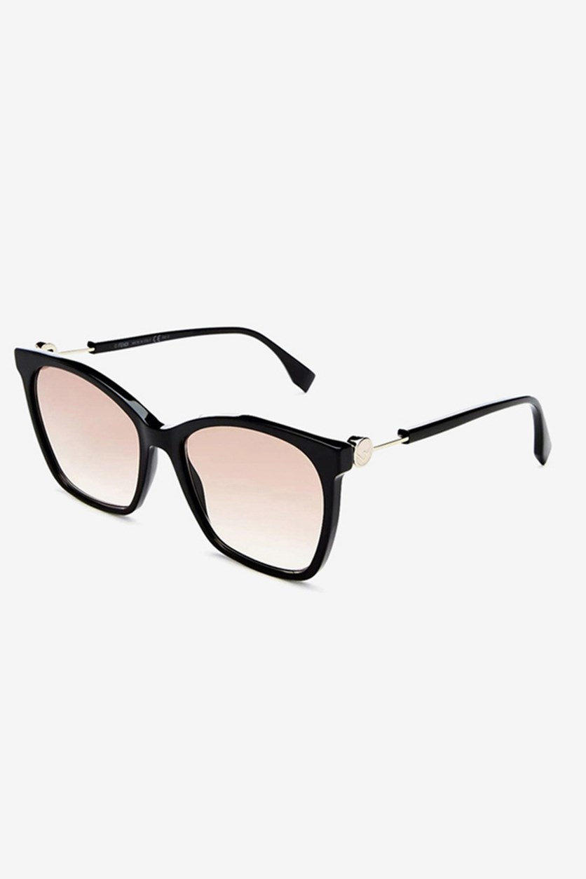 Women's FF0344 Sunglasses, Black