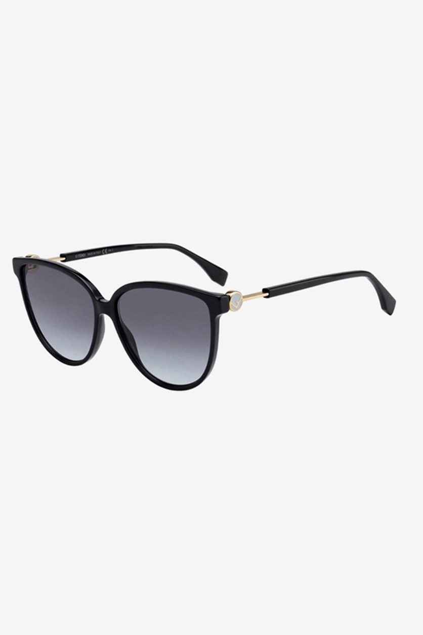Women's FF0345 Sunglasses, Black