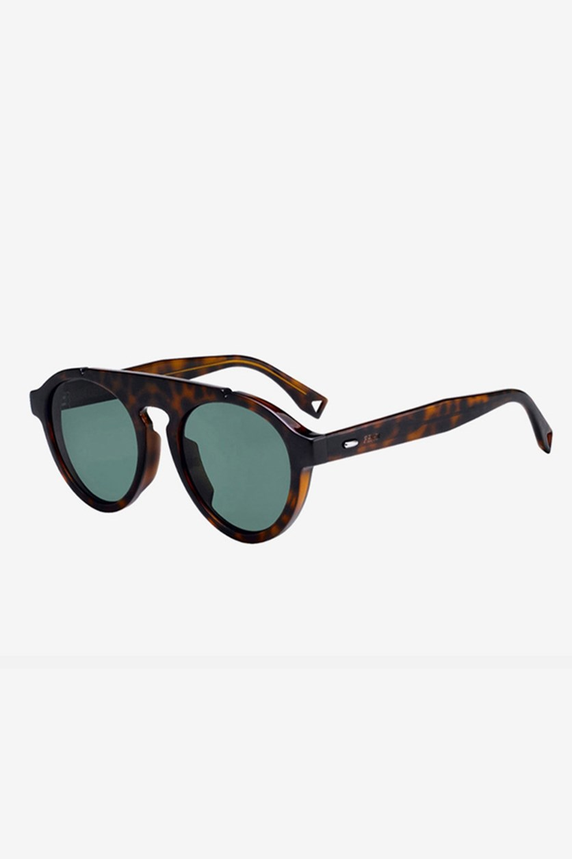 Men's FFM0013 Sunglasses, Dark Havana