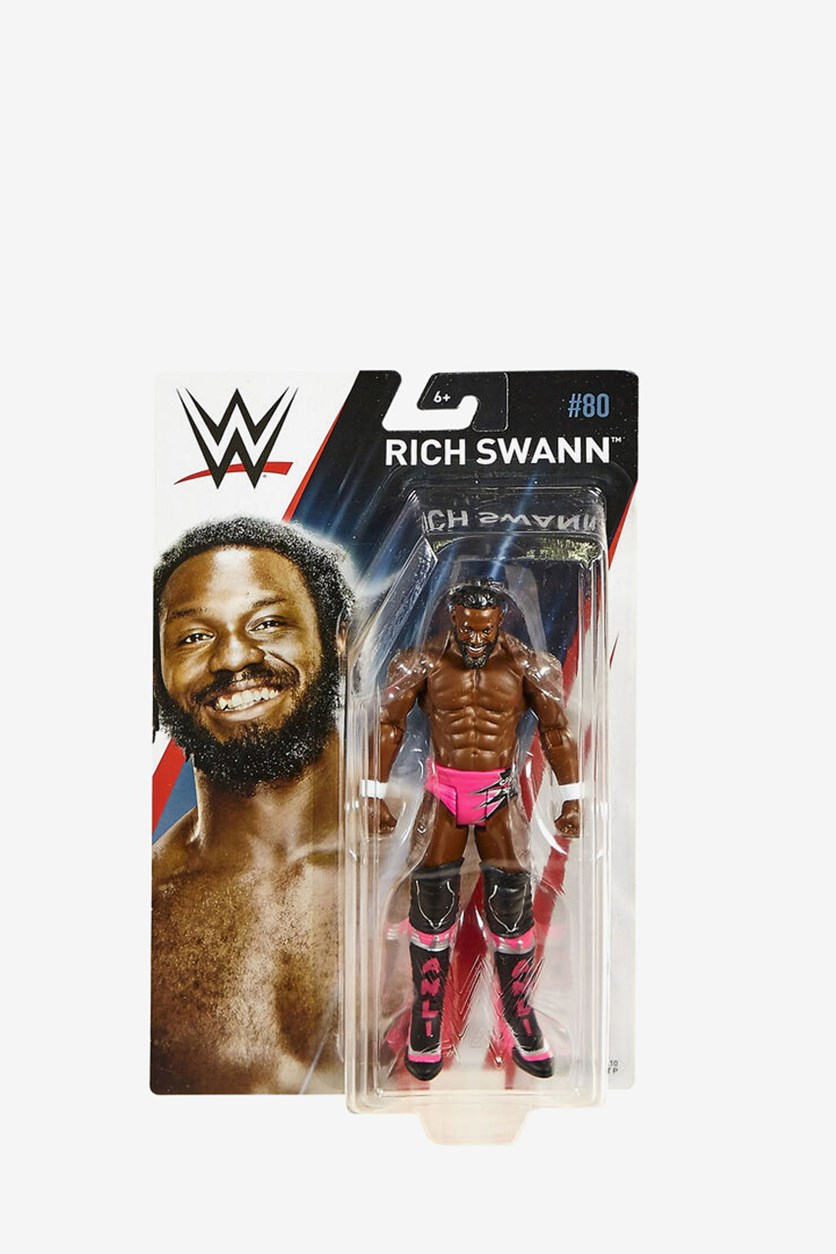 Boy's Rich Swann  Basic Action Figure Series 80, Brown/Pink