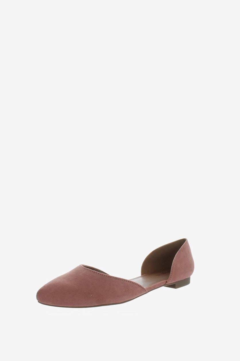 Women's  Griff Flats, Light Pink