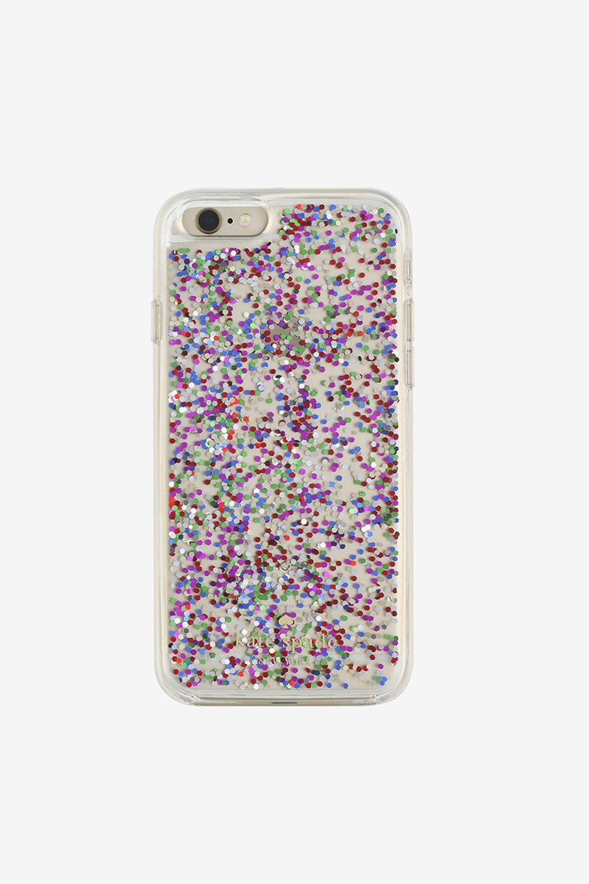 Clear Glitter Case For iPhone 7 Plus, Transparent Combo