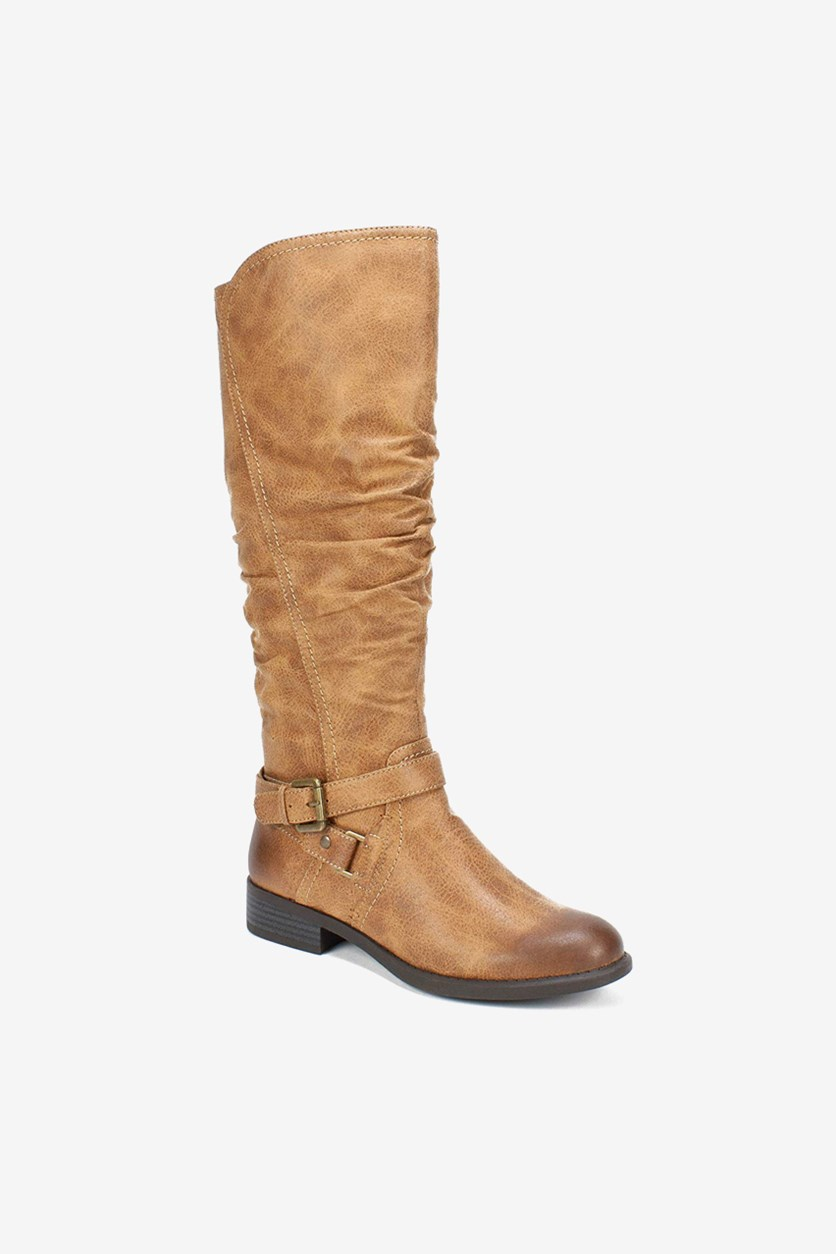 Women's Layton Knee High Riding Boots, Natural