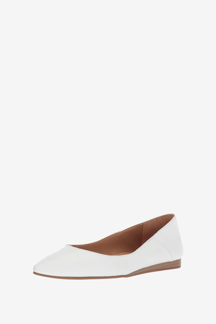 Women's Bylando Ballet Flat, Bright White