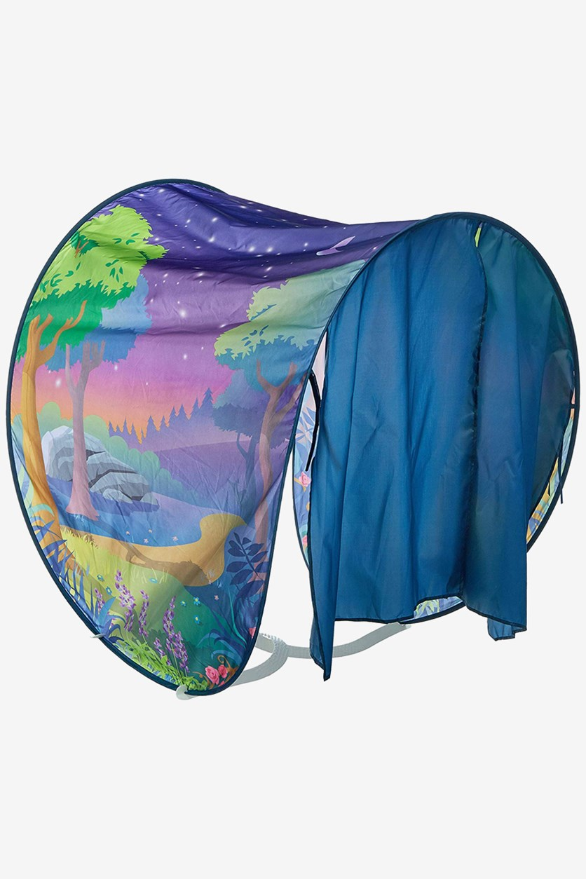 Fantasy Forest Twin Size Pop Up Tent, Teal