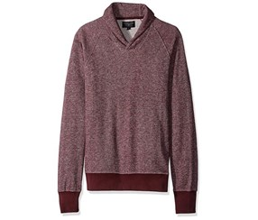 Rogue State Men's Pullover Sweater, Burgundy