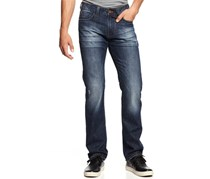 Ring of Fire Straight Fit Men's Jeans, Navy