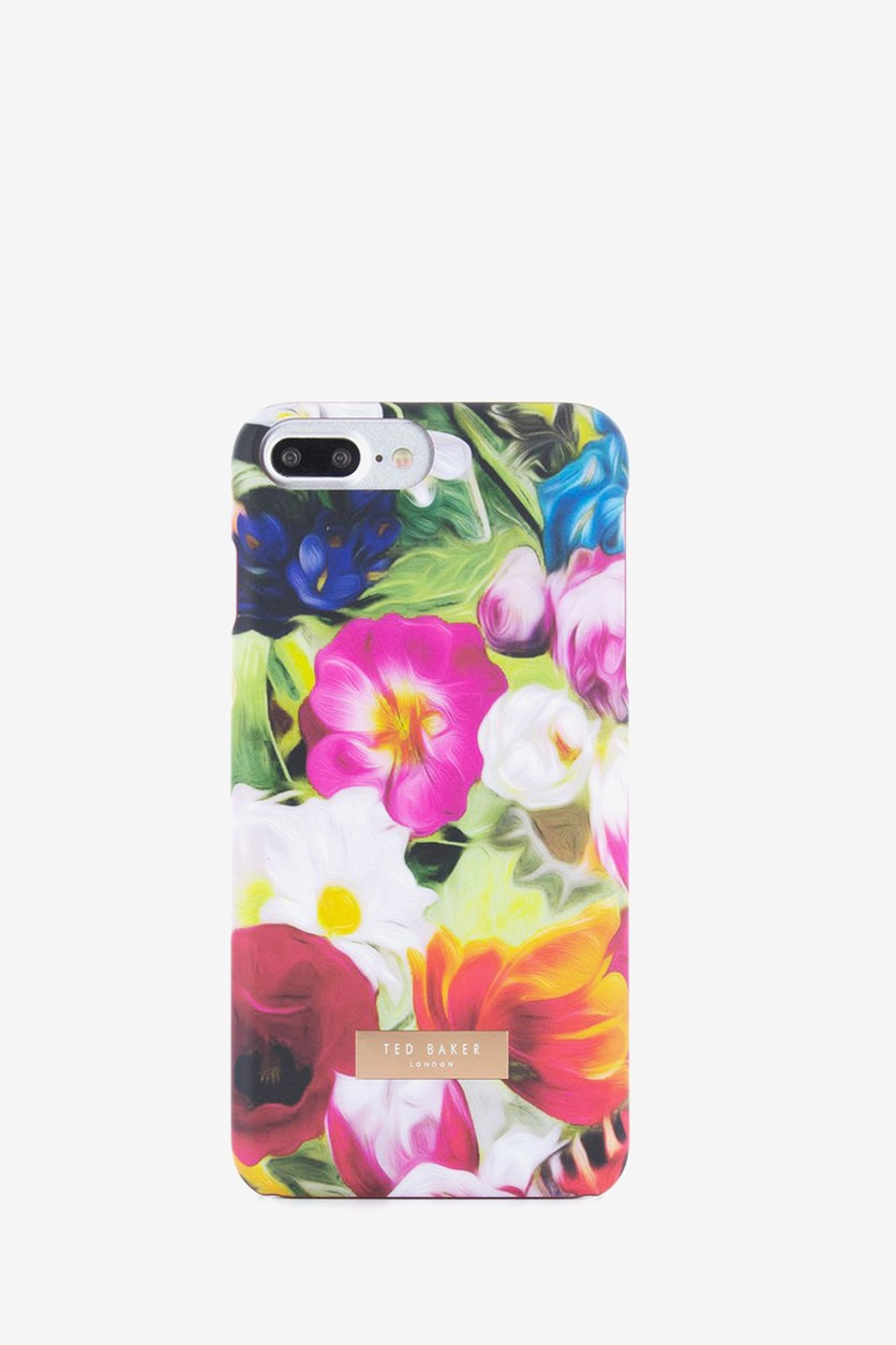Hard Shell Case For Apple iPhone7, Floral Swirl