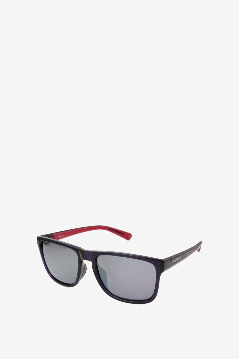 Men's Sunglasses, Dark Purple/Red