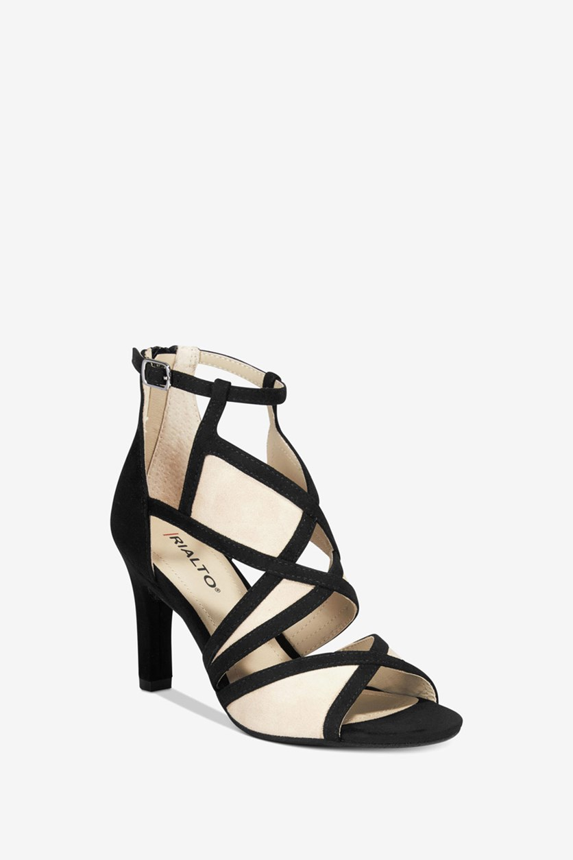 Women's Dress Sandals, Black
